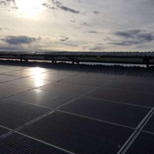 150 kw Güneş Panelli Sistem